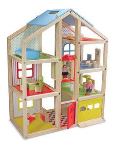 toys4kiddy - houten poppenhuis