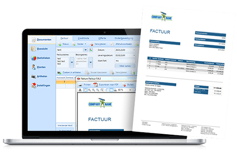 faktumfactuur - facturatie software