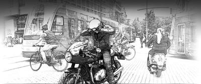Motorrijden, is dat wel zo gevaarlijk?
